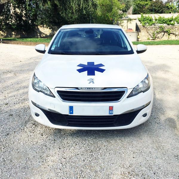 ambulance conventionnée Laudun-l'Ardoise, ambulancier Laudun-l'Ardoise, transport de malade Laudun-l'Ardoise, transport de malade assis Laudun-l'Ardoise, transport de malade allongé Laudun-l'Ardoise